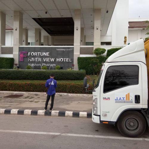 งานแก้อาคารทรุดโรงแรม จ.นครพนม