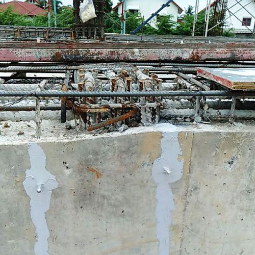 งานซ่อมรอยร้าวคานคอดิน ด้วยวิธีอีพ็อกซี่อินเจ็คชั่น อาคารโรงงานจังหวัดนครสวรรค์