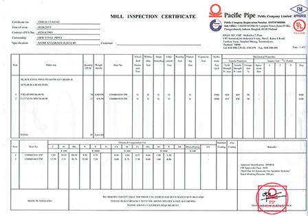 Certificate micropile
