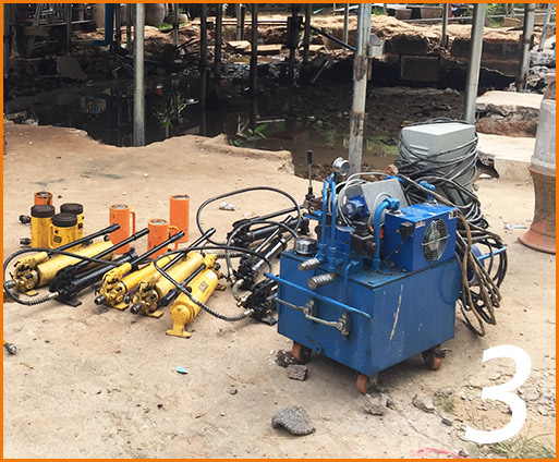 Micropiles for Structure Jacking3
